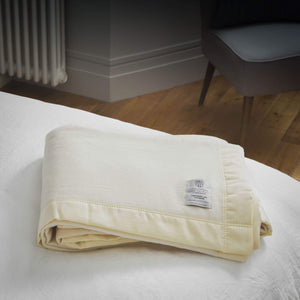 Atkinson Cashmere Blend Blanket -  - LUXURY BEDDING  from The Wool Company