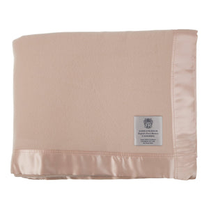 Atkinson Cashmere De Luxe Blanket - Champagne / 180 x 255 cm Single - LUXURY BEDDING  from The Wool Company