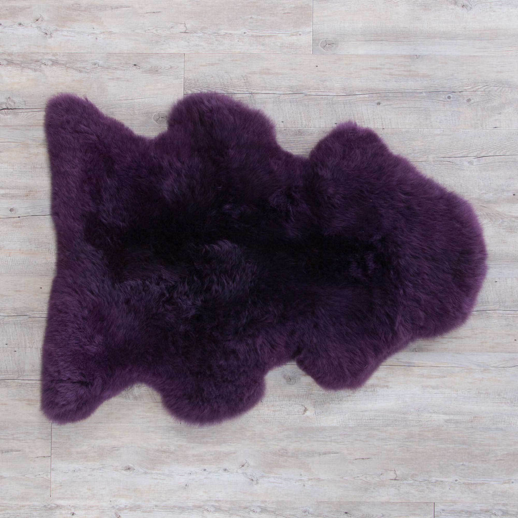 Buy Aubergine Sheepskin From The Wool Company Online