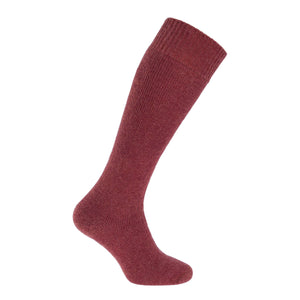 Cairngorm Mohair Long Boot Sock 4-7 UK Copper CLOTHING The Wool Company