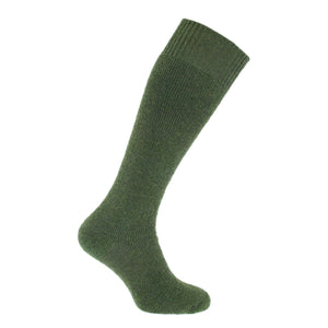 Cairngorm Mohair Long Boot Sock 4-7 UK Loden CLOTHING The Wool Company