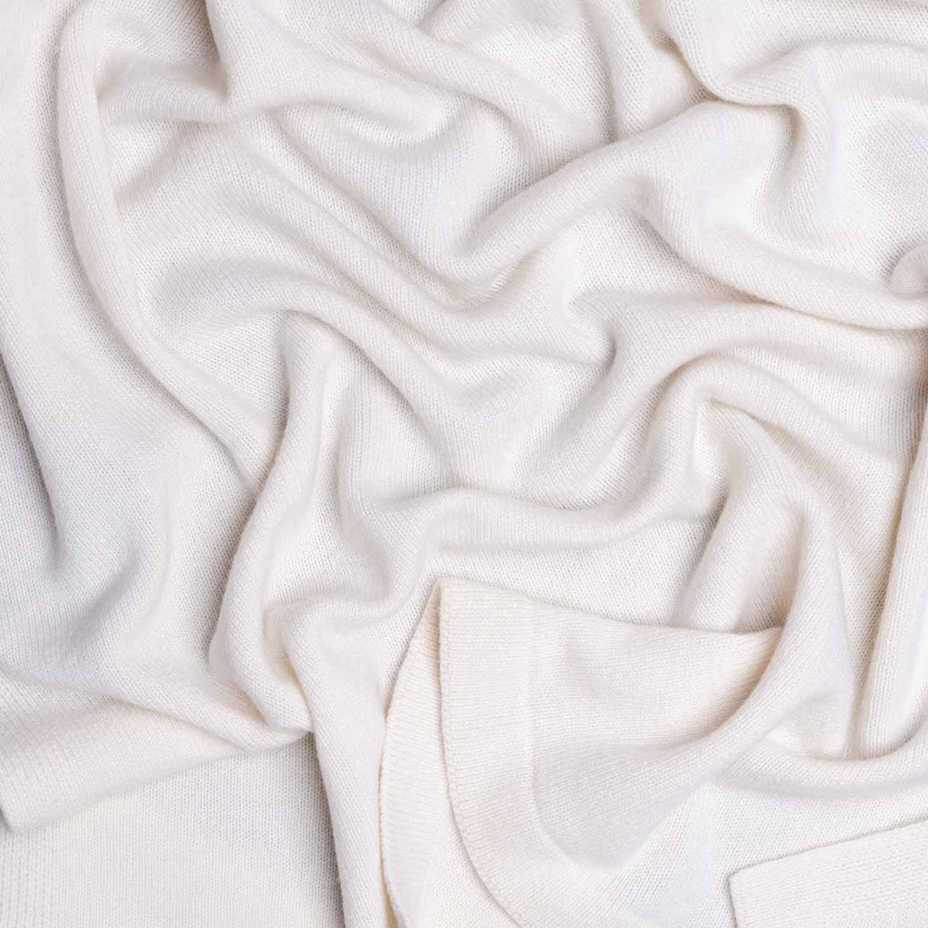 Buy Cashmere Baby Blanket Ivory From The Wool Company Online