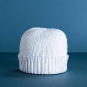 Cashmere Baby Hat Ivory -  - BABY  from The Wool Company