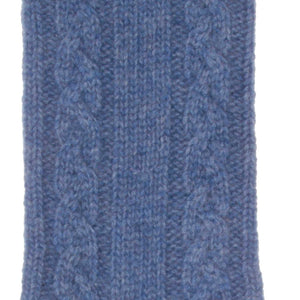 Buy Cashmere Bed Socks Denim 8-11 From The Wool Company Online
