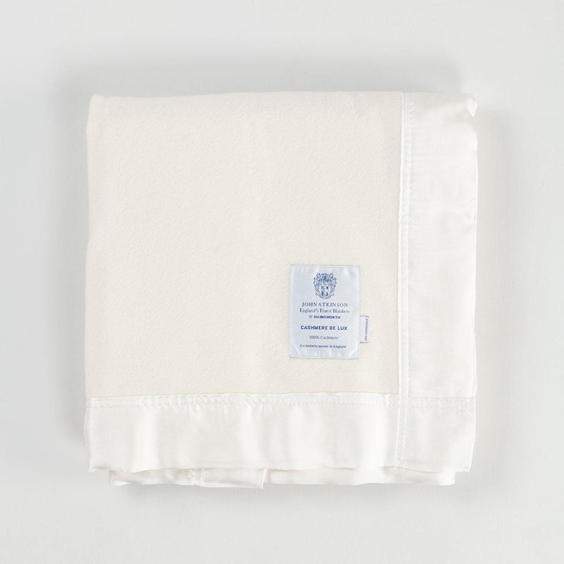 Cashmere De Luxe Baby Blanket Ivory -  - BABY  from The Wool Company