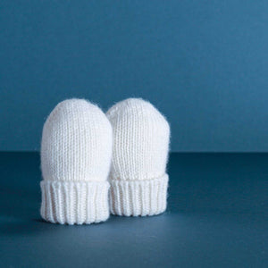 Cashmere Gift Set Ivory Plain -  - BABY  from The Wool Company