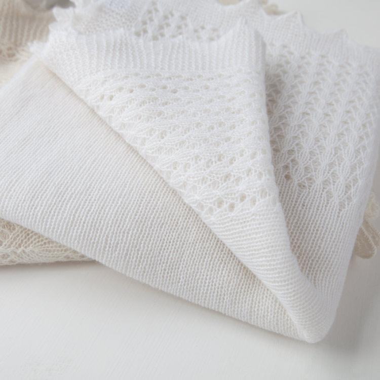 Buy Cashmere Lace Baby Shawl From The Wool Company Online