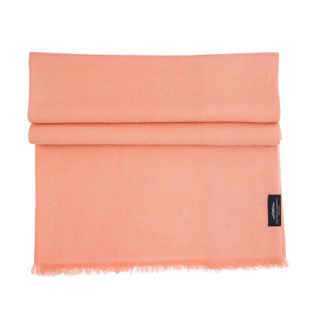 Cashmere Pashmina Coral -  - CLOTHING  from The Wool Company