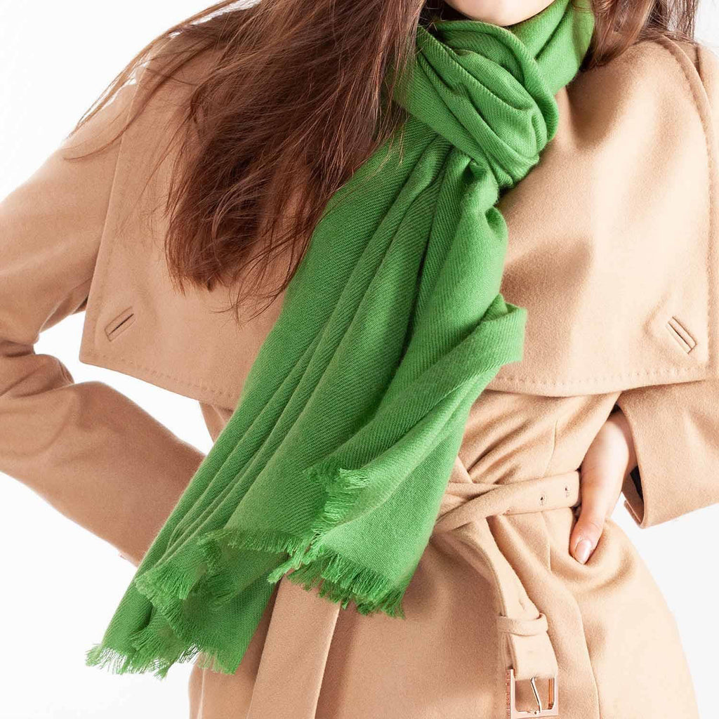 Buy Cashmere Pashmina Moss From The Wool Company Online