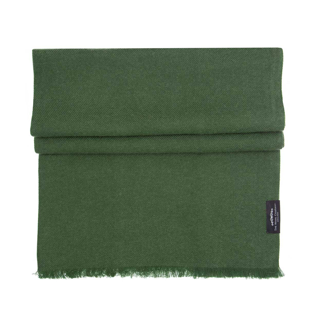 Cashmere Pashmina Olive -  - CLOTHING  from The Wool Company