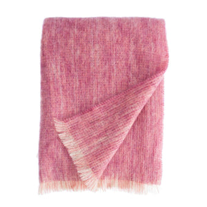 Chateau Rose Mohair Throw -  - LIVING  from The Wool Company