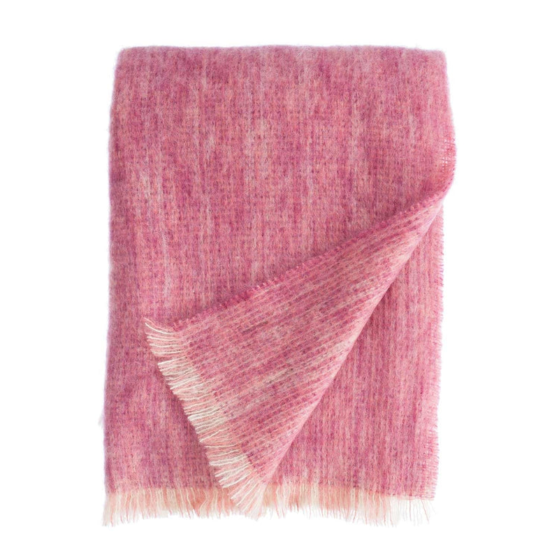 Buy Chateau Rose Mohair Throw From The Wool Company Online