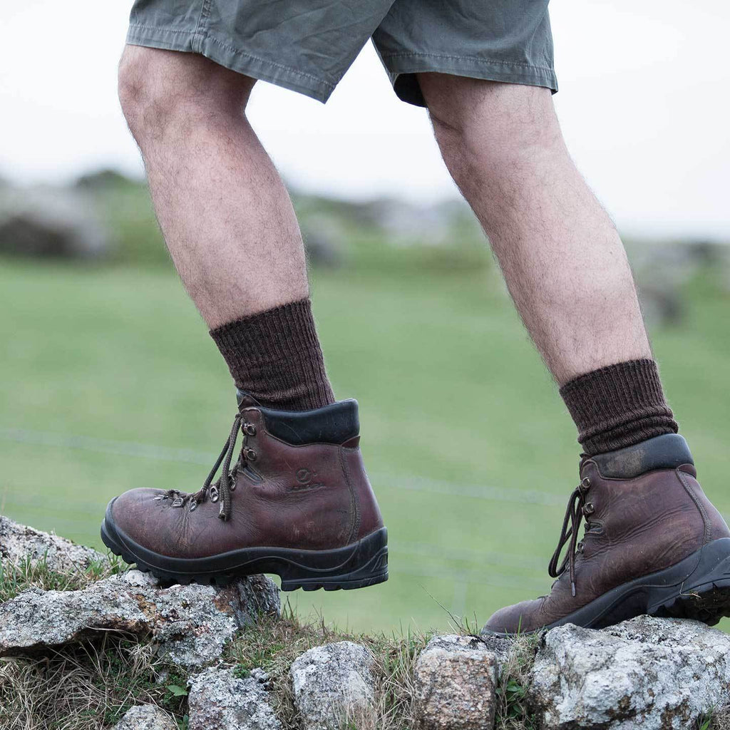 Cotswold Mohair Trekking Sock CLOTHING The Wool Company