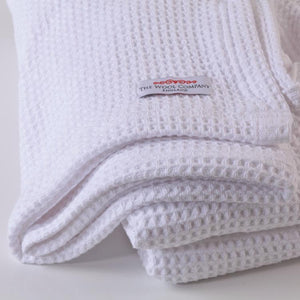 Buy Cotton Waffle Blanket From The Wool Company Online