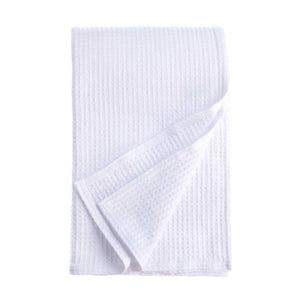 Cotton Waffle Blanket - White / 230 x 230 cm Double - OFFERS and SALE  from The Wool Company