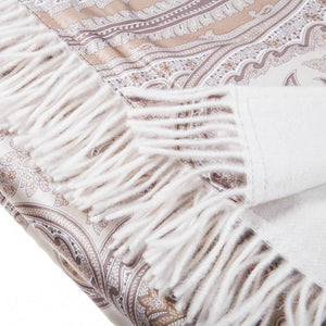 Cristallo Silk & Cashmere Throw -  - LIVING  from The Wool Company