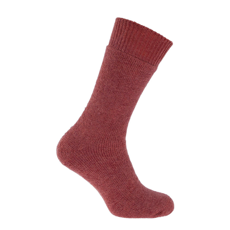 Dartmoor Mohair Trekking Sock - 4 - 7 / Copper - CLOTHING  from The Wool Company