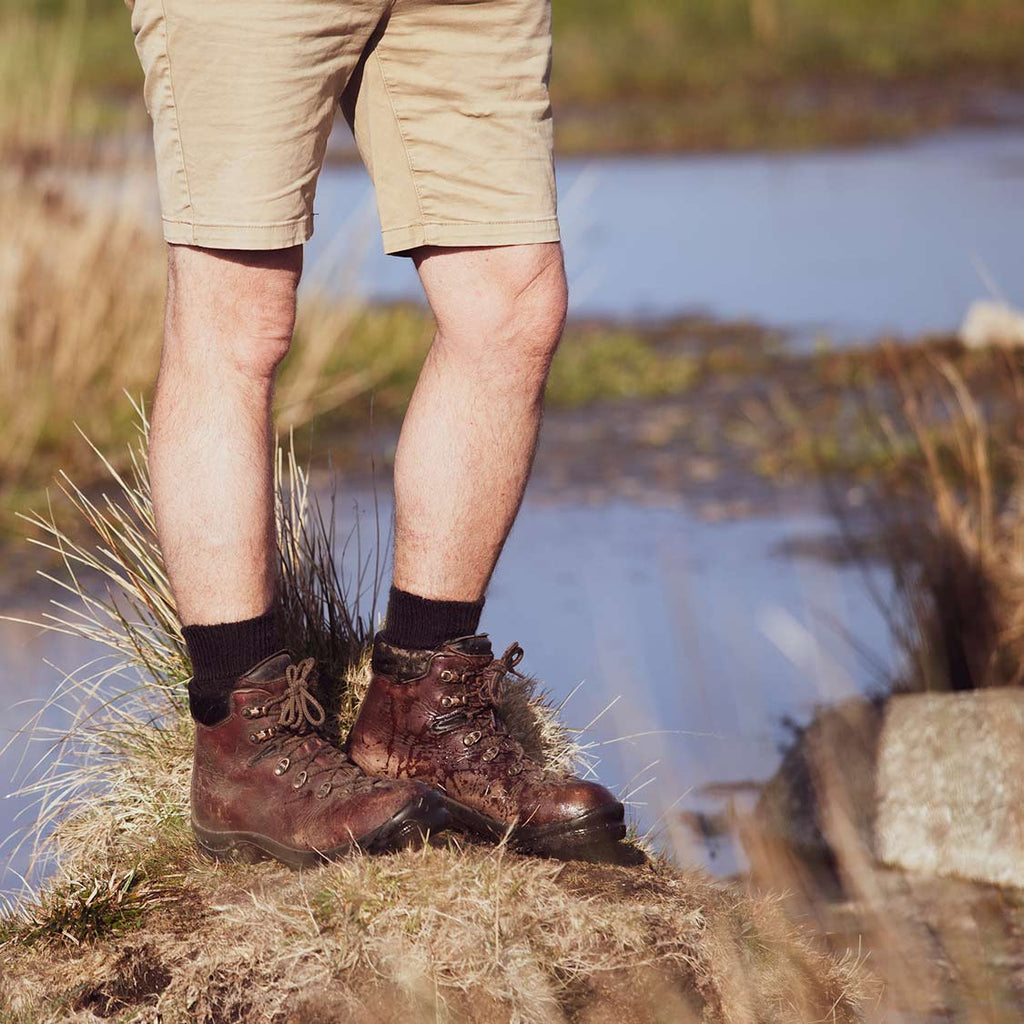 Dartmoor Mohair Trekking Sock -  - CLOTHING  from The Wool Company