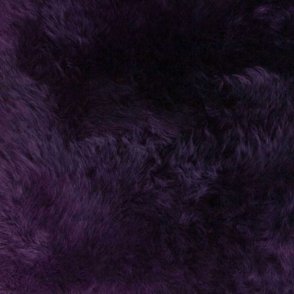 Double Sheepskin Aubergine -  - SHEEPSKIN  from The Wool Company