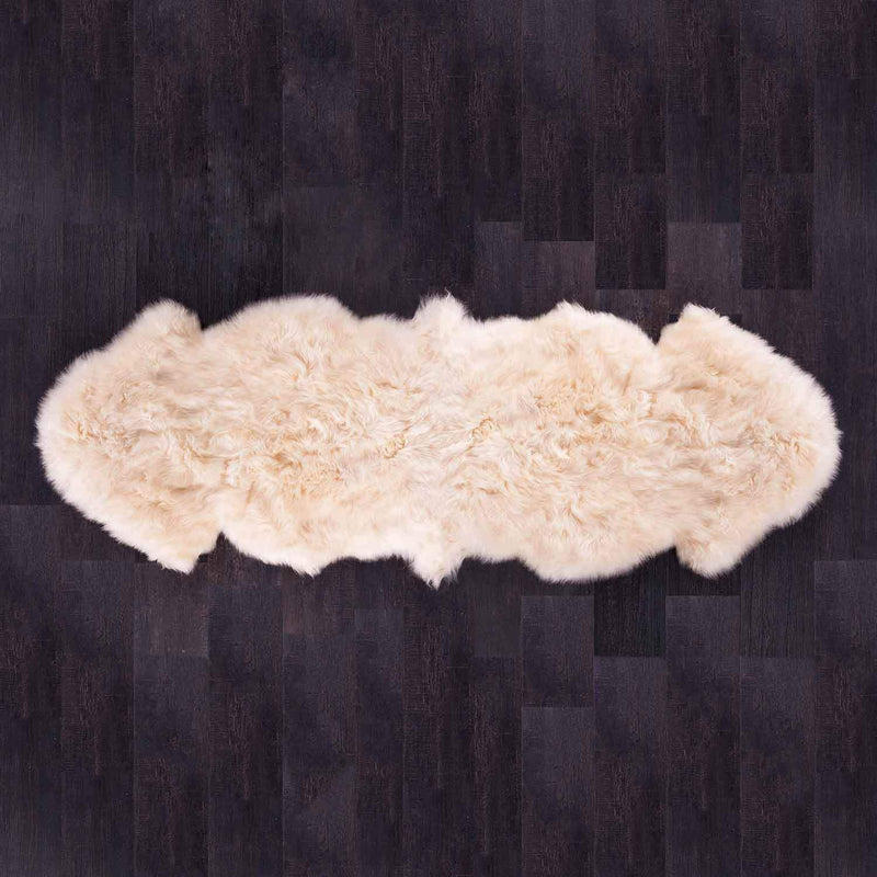 Double Sheepskin Champagne -  - SHEEPSKIN  from The Wool Company