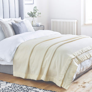 Duchess Merino Blanket -  - LUXURY BEDDING  from The Wool Company