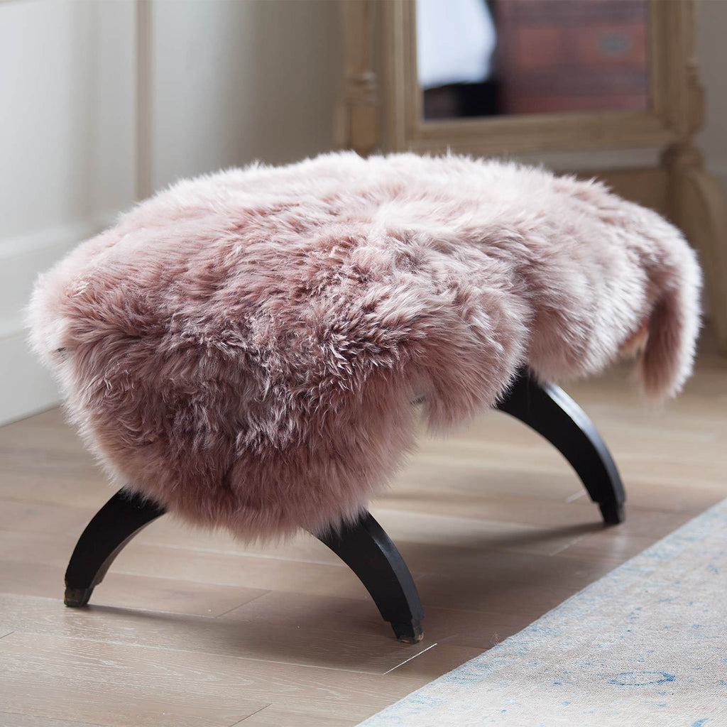 Dusky Pink Sheepskin -  - SHEEPSKIN  from The Wool Company