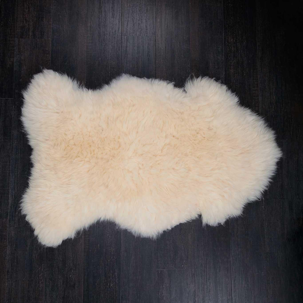 Eco Tanned British Natural White Extra Large -  - SHEEPSKIN  from The Wool Company