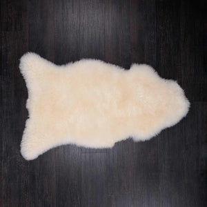 Buy Eco Tanned British Natural White From The Wool Company Online
