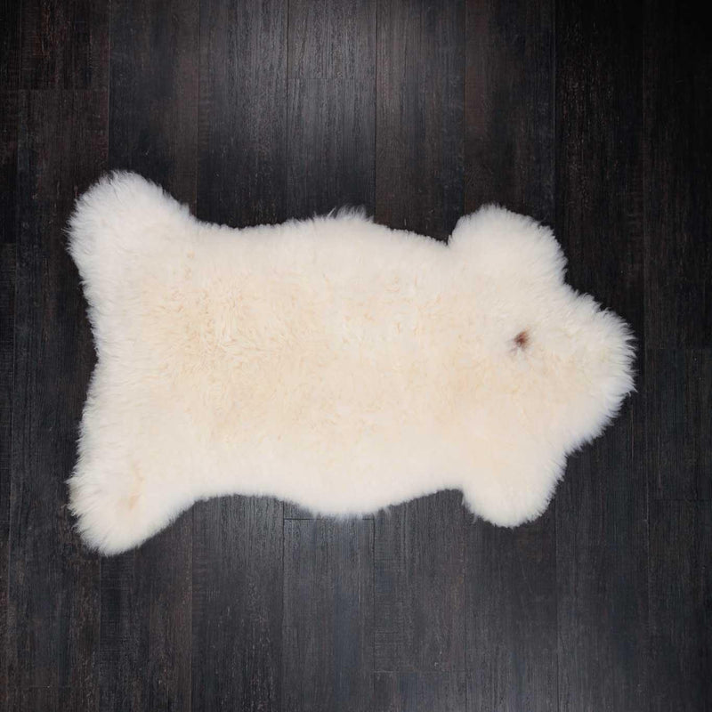 Eco Tanned British Natural White -  - SHEEPSKIN  from The Wool Company