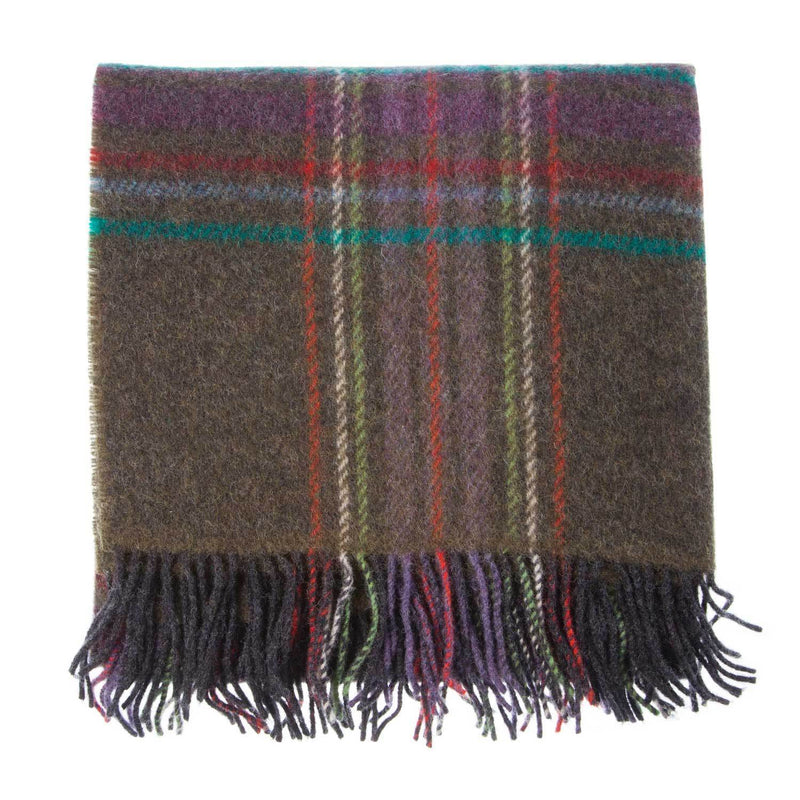English Country Woolen Knee Rug Juniper -  - LIVING  from The Wool Company