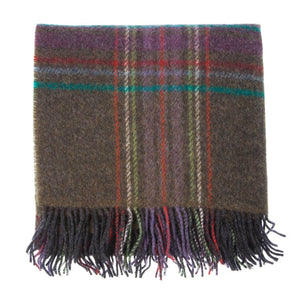 English Country Woolen Knee Rugs - Juniper - LUXURY BEDDING  from The Wool Company