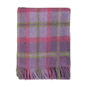 Buy English Country Woolen Throw Heather From The Wool Company Online