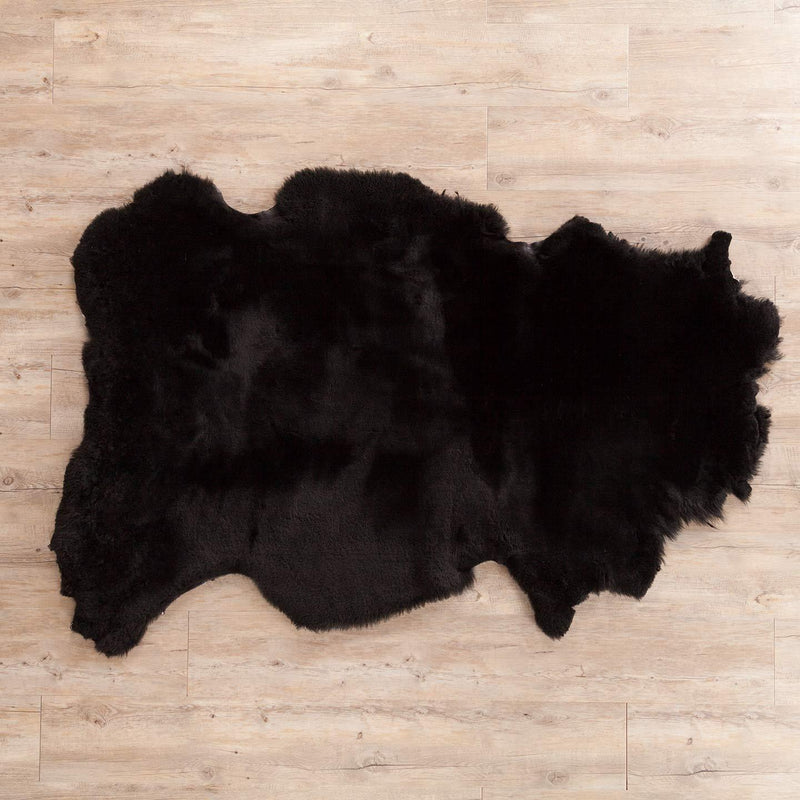 Exclusive Sheepskin Throw Black SHEEPSKIN The Wool Company