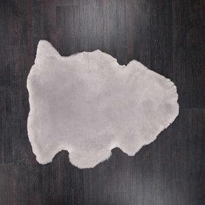 Exclusive Sheepskin Throws Cashmere Grey -  - SHEEPSKIN  from The Wool Company