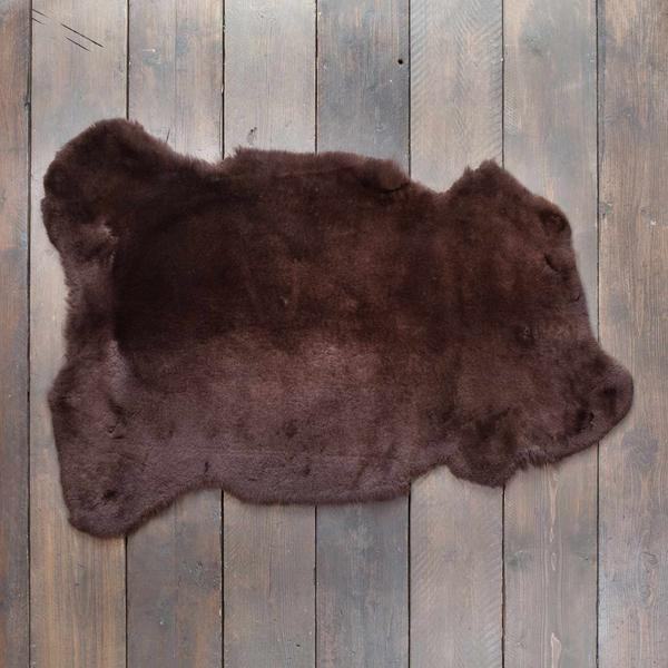 Exclusive Sheepskin Throws Dark Chocolate -  - SHEEPSKIN  from The Wool Company