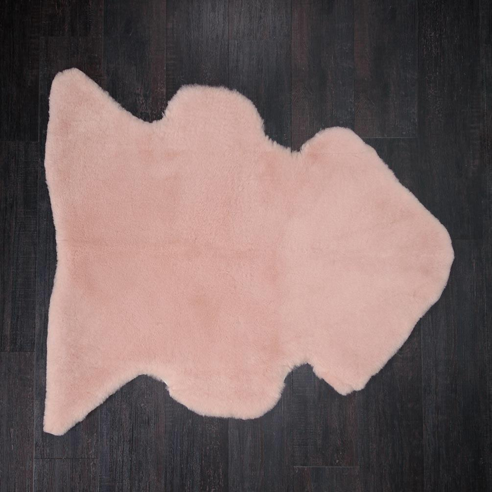 Buy Exclusive Sheepskin Throws Dusky Pink From The Wool Company Online