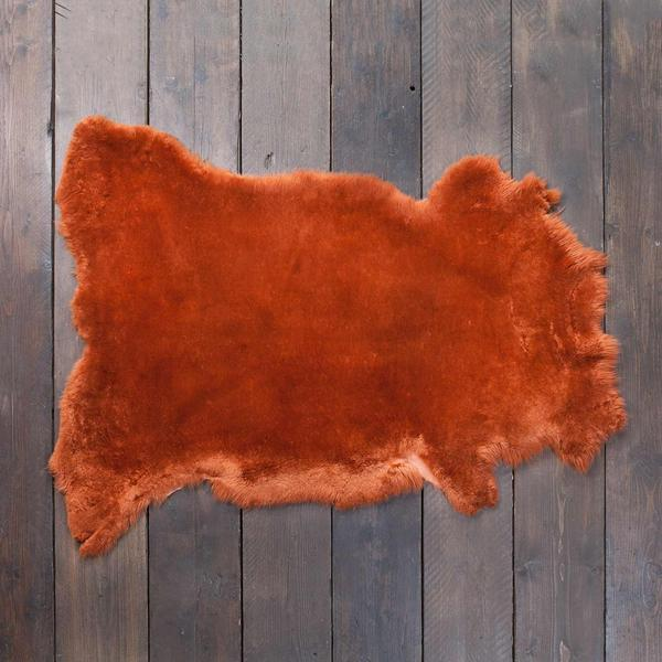 Exclusive Sheepskin Throws Ginger -  - SHEEPSKIN  from The Wool Company