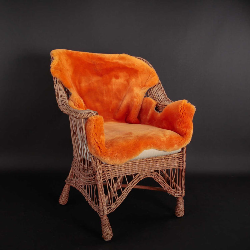 Exclusive Sheepskin Throws Mandarin SHEEPSKIN The Wool Company