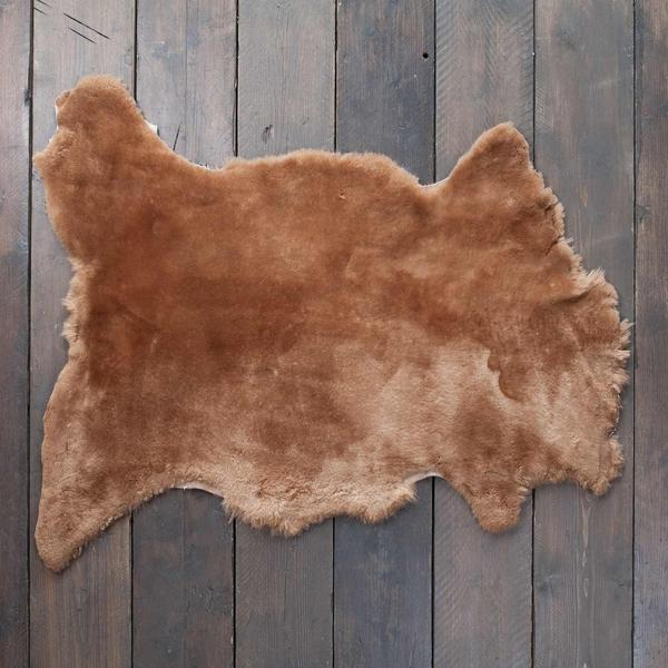 Exclusive Sheepskin Throws Otter -  - SHEEPSKIN  from The Wool Company