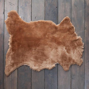 Exclusive Sheepskin Throws Otter SHEEPSKIN The Wool Company