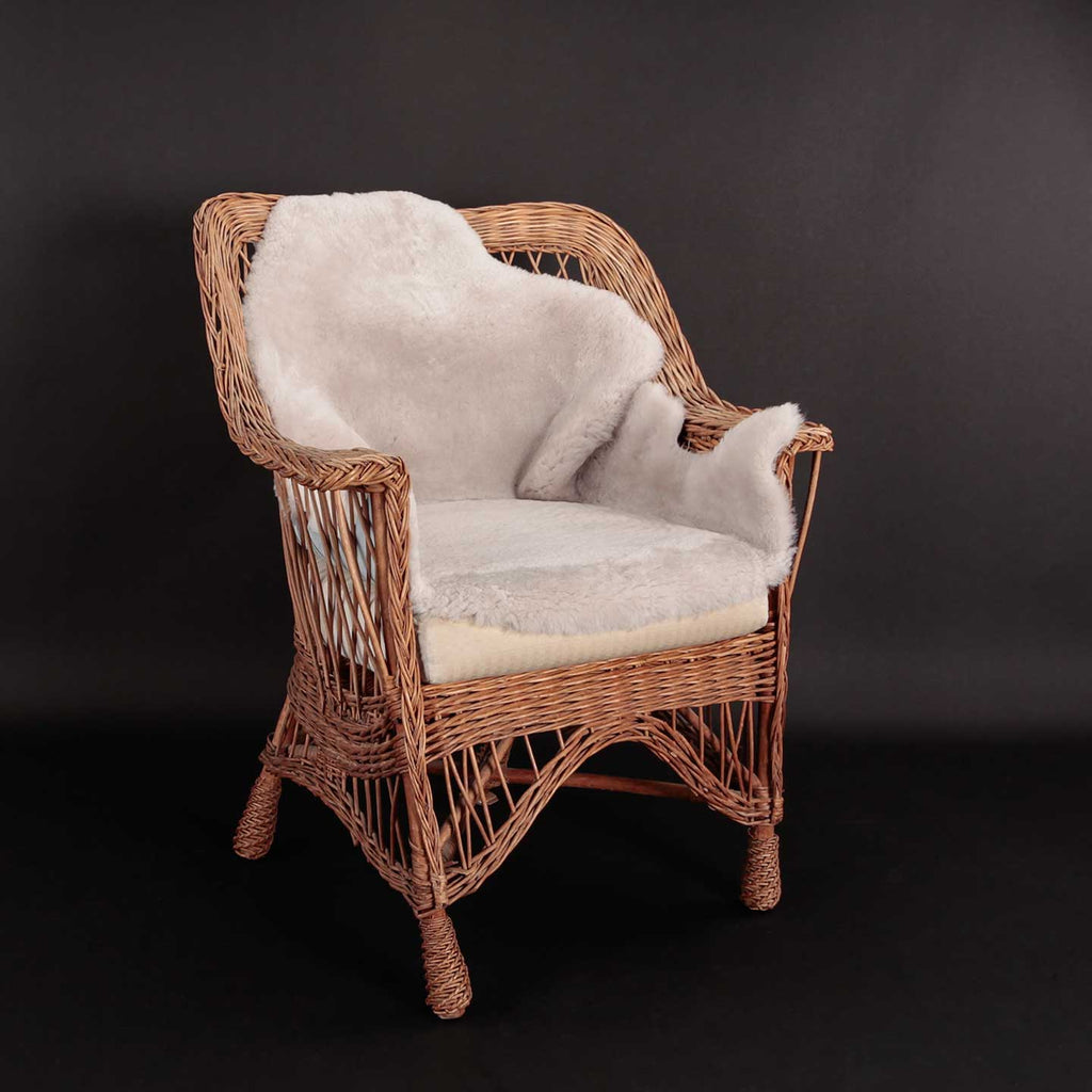 Buy Exclusive Sheepskin Throws Pearl From The Wool Company Online