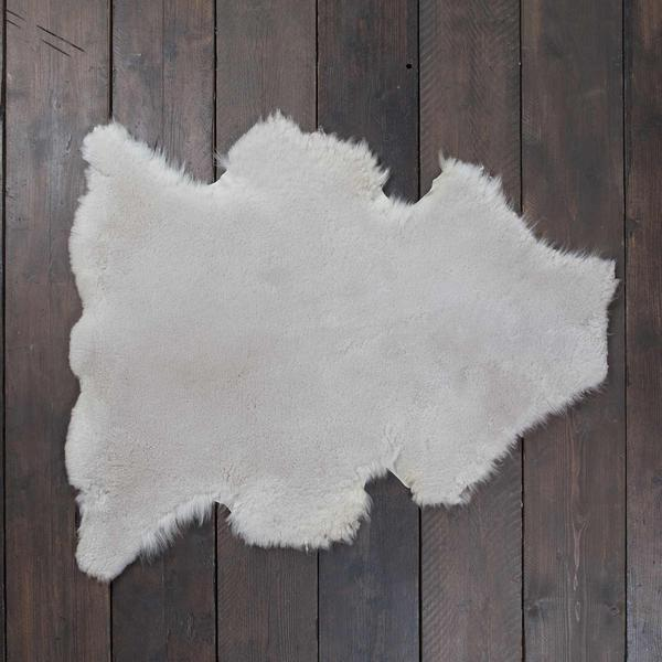 Exclusive Sheepskin Throws Pearl -  - SHEEPSKIN  from The Wool Company
