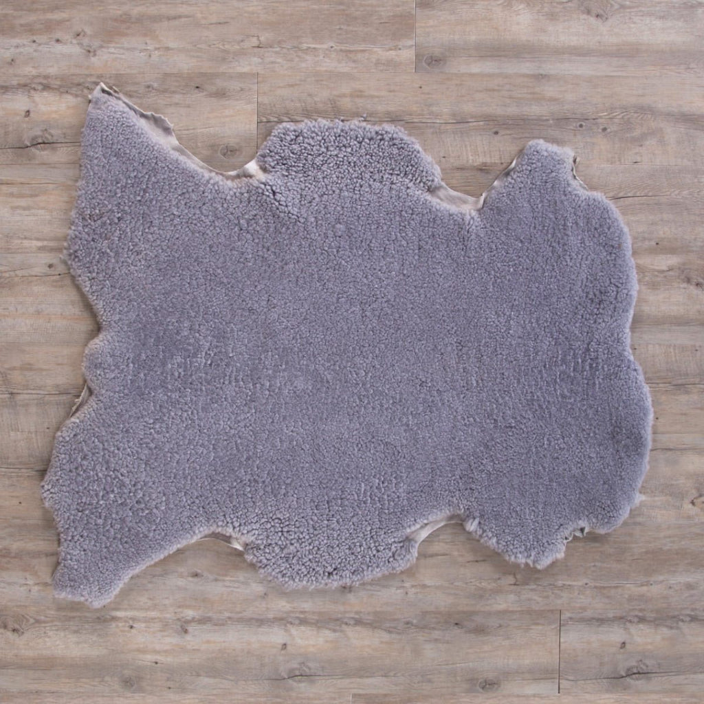 Extra Large Merino Sheepskin Throws Silver -  - SHEEPSKIN  from The Wool Company