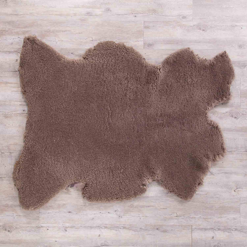 Extra Large Merino Sheepskin Throws Taupe SHEEPSKIN The Wool Company
