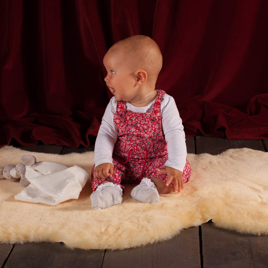 Extra Large Natural Baby Sheepskin SHEEPSKIN The Wool Company
