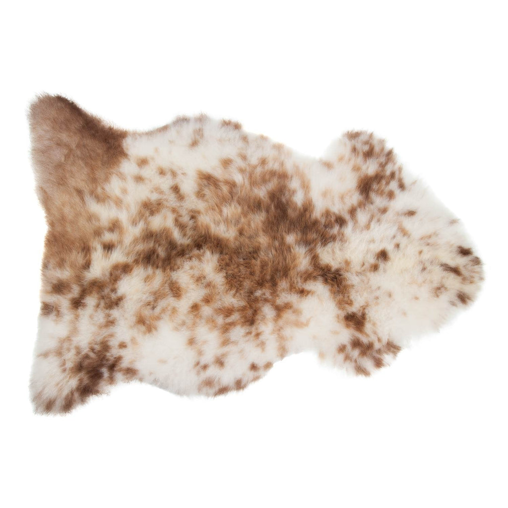 Frothy Coffee Sheepskin - Medium: 90 cm x 60cm - SHEEPSKIN  from The Wool Company
