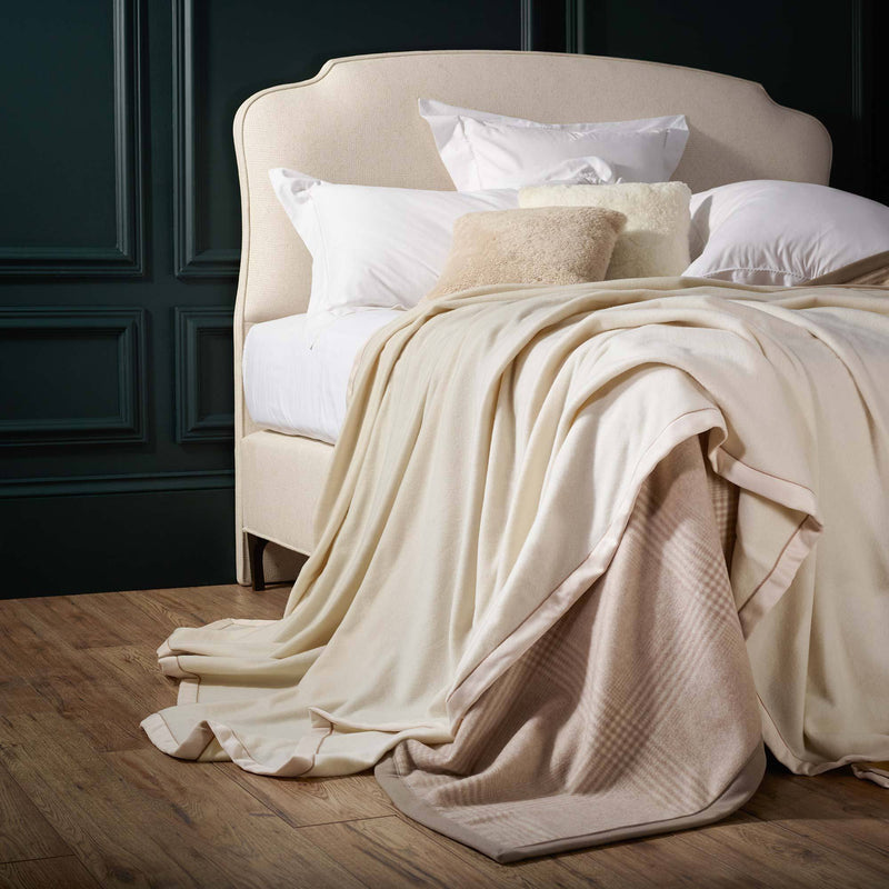 Geisha Cashmere Blanket LUXURY BEDDING The Wool Company