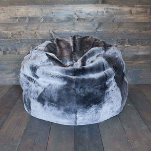 Giant Sheepskin Bean Bag Graphite -  - SHEEPSKIN  from The Wool Company