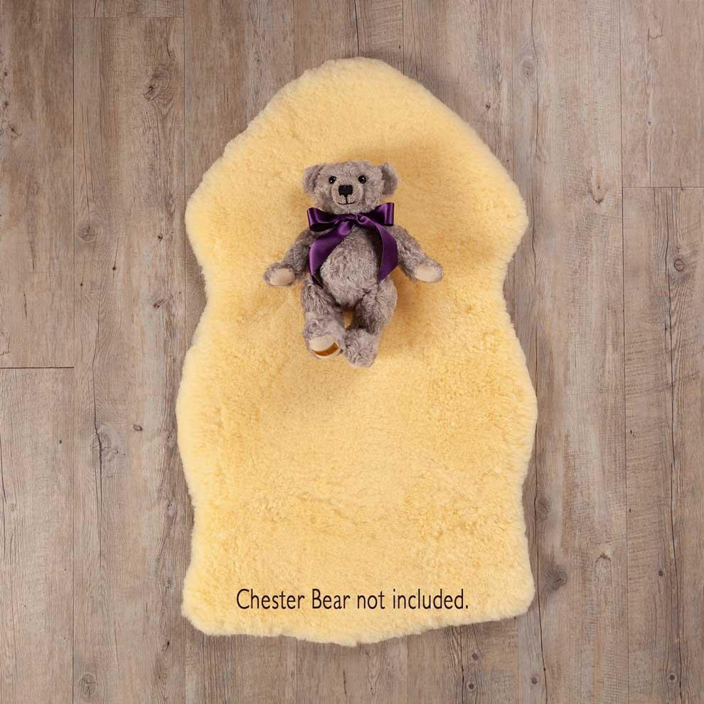 Golden Merino Baby Sheepskin -  - BABY  from The Wool Company