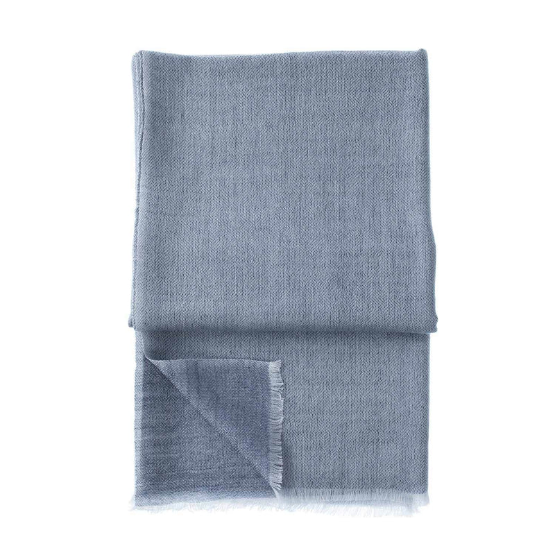 Buy Gossamer Cashmere Stoles Graphite From The Wool Company Online